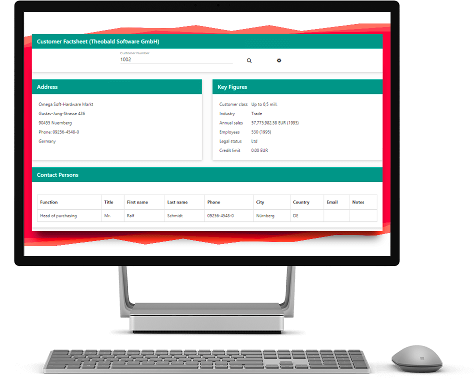 ERPConnect Services Screenshot